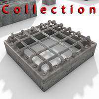Sewer metal cover Textured