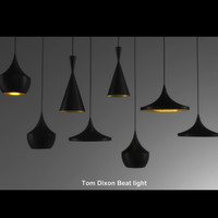 3d tom dixon beat light model