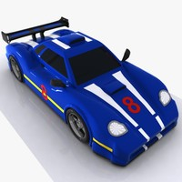 Cartoon Sports Car 2