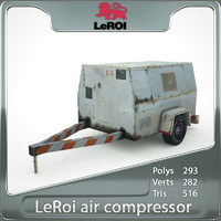 Air Compressor LeRoi 185