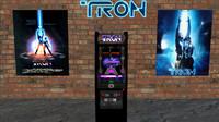 3d tron arcade classic model