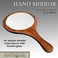 antique mirror 3d model