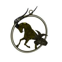 Capricornus Zodiac Sign Model