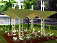 tensile structure estructura tensada max
