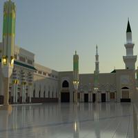 3d 3ds masjid s
