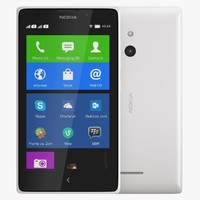 3d model nokia xl white