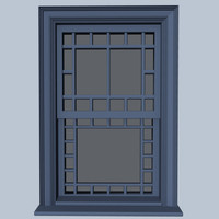 3d queen window