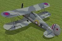 maya gloster gladiator fighter sea
