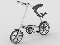 3d model strida lt bike