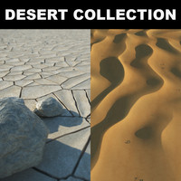 stones realistic desert max