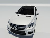 3d ml63 amg 2014 mercedes benz