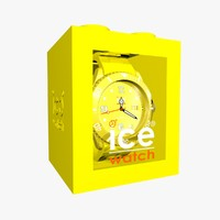 3ds yellow ice watches