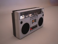 Sanyo retro radio