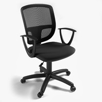 computer office chair 3d max