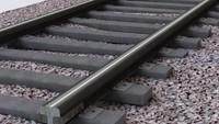 maya railway track railroad rail
