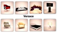 3d model versace lamp