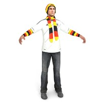 Soccer Fan Germany