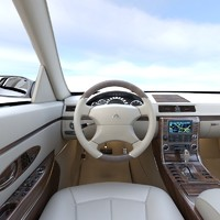 3d max maybach sport vehicle