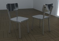 3d chair deja-vu vu model