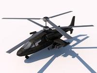 kamov ka-52 3d 3ds