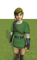 link skyward sword fully rigged x