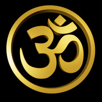 3d model of om symbol