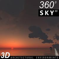 3dsmax sky clouds