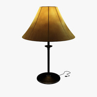 table lamp - 3d max