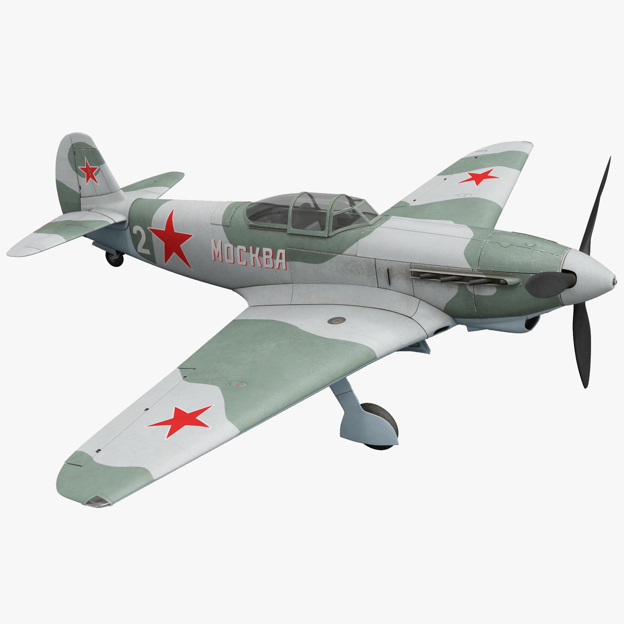 Yakovlev Yak-9 Soviet World War II Fighter 2_1.jpg