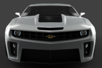 5th camaro zl1 3d 3ds