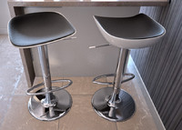 bar stool chair 3d dxf