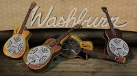 3d washburn resonator