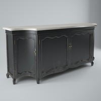 3d model dialma brown credenza