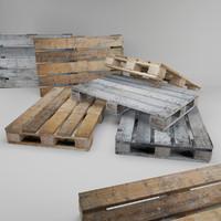Old Wooden Pallet