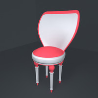 3d luxurious chair