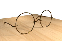 eyeglasses glasses 3d model