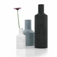3d flower vase model