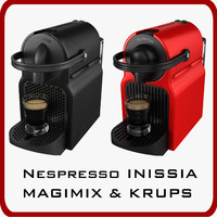 Nespresso Inissia Magimix & Krups PACK