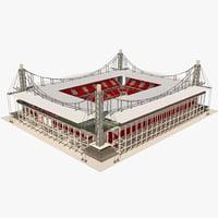 rhein energie stadion 3d 3ds