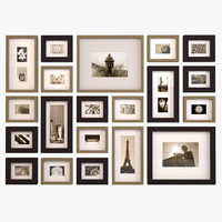 3ds contemporary picture wall