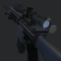 3d sniper rifle sr 25