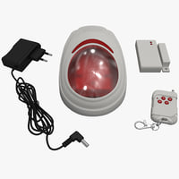 3d 3ds wireless home security alarm