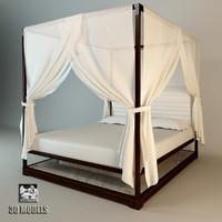 3d bed giorgetti chi