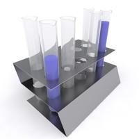 3d max test tube