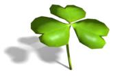 shamrock clover 3d 3ds