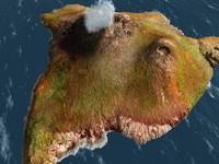 vue volcanic island volcanoes