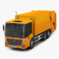 Mercedes Benz Econic 2014 Garbage Truck