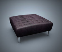 3d model chester sofa seat
