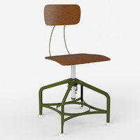 3ds max photorealistic vintage toledo dining chair