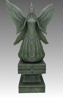 free monument angels 3d model